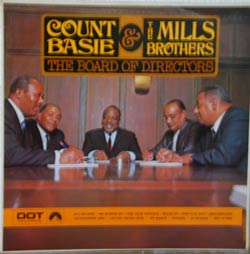 Bild zu with the Mills Brothers. The Board of Directors  von Count Basie