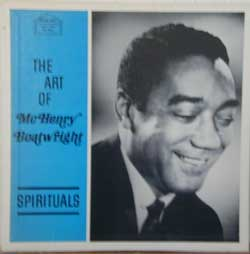 Bild zu The Art of McHenry Boatwright. Spirituals von Boatwright McHenry