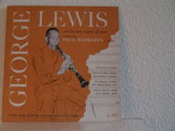 Bild zu Georeg Lewis and his new orleans all stars von George Lewis