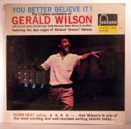 Bild zu You better believe it von Gerald Wilson