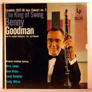Bild zu The King of Swing, 1937-38 jazz concert nr.2 von Benny Goodman
