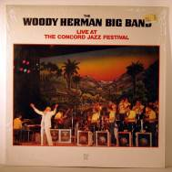 Bild zu at the Concord Jazz Festival featuring Stan Getz von Woody Hermann