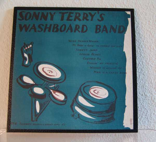 Sonny Terry's washboard band