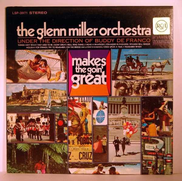 the Glenn Miller Orchestra (Buddy de Franco)