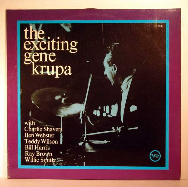 the exciting gene krupa